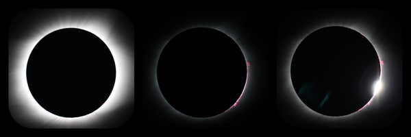 2017 Eclipse from Laramie Peak Wyoming